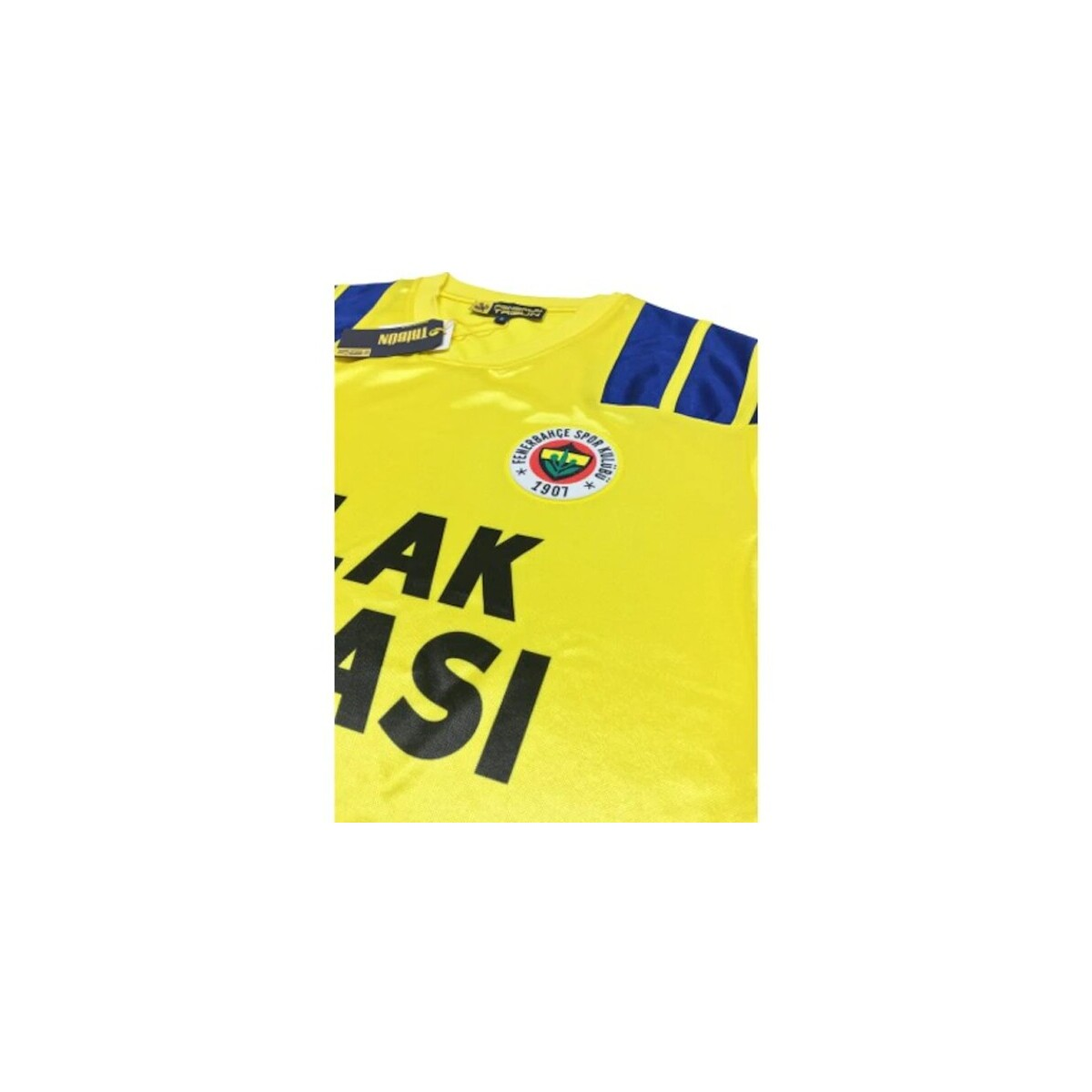Fenerbahçe Forma Nostalji Efsane Sarı Retro Forması
