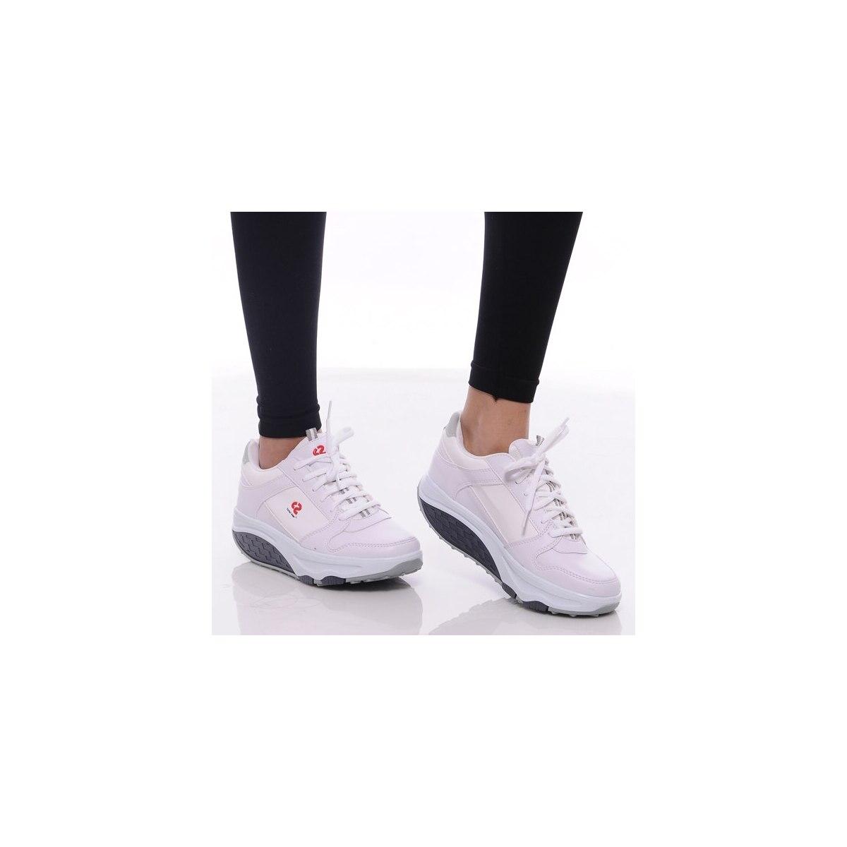 Perfect Steps Günlük Spor - Zayıflatıcı Siyah Yürüyüş Ayakkabısı
