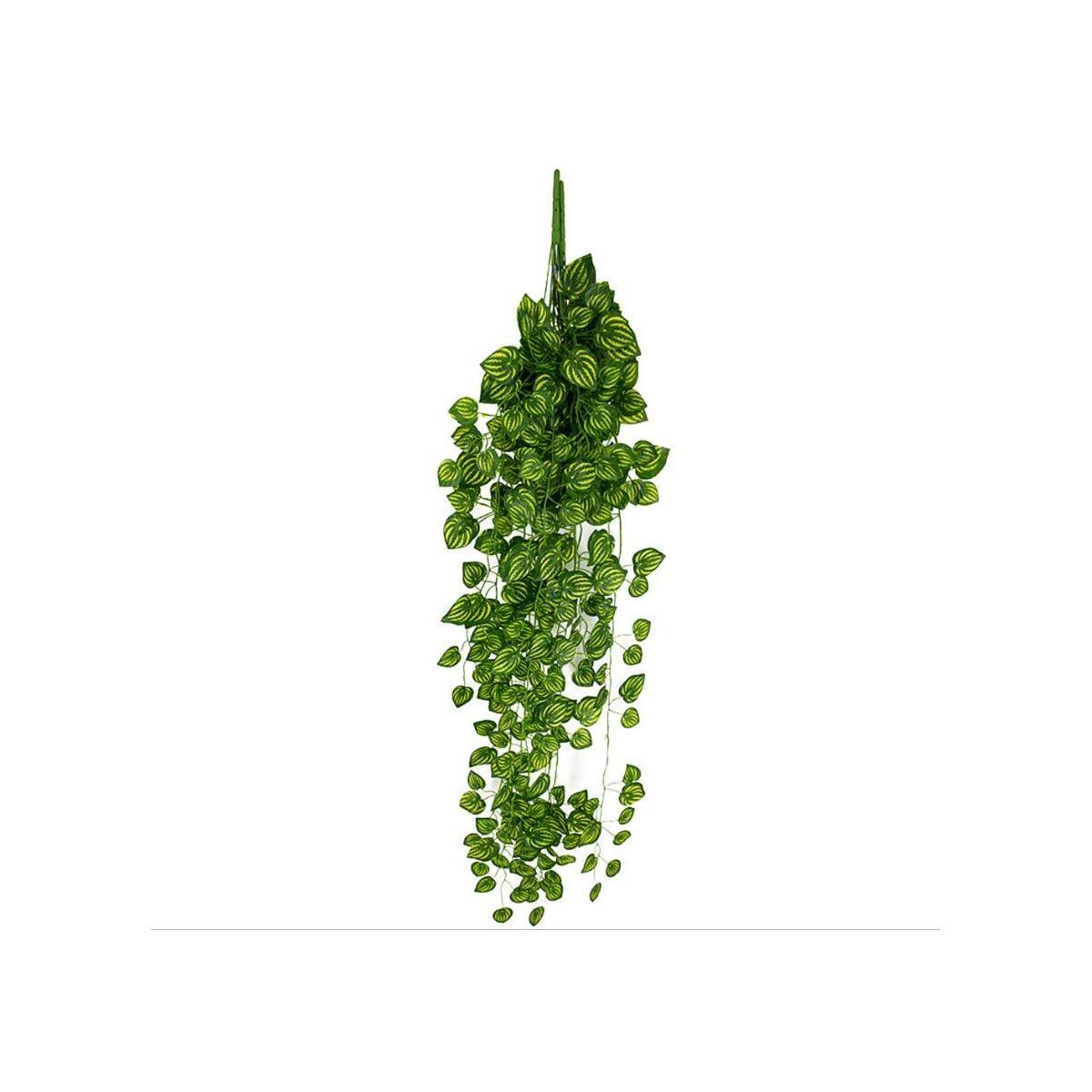 Yapay Çiçek 9 Dallı Sarkan Sarmaşık Sarı Yeşil