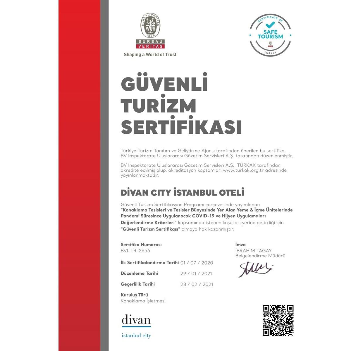 Gayrettepe Divan İstanbul City Hotel'de Çift Kişilik Konaklama Keyfi
