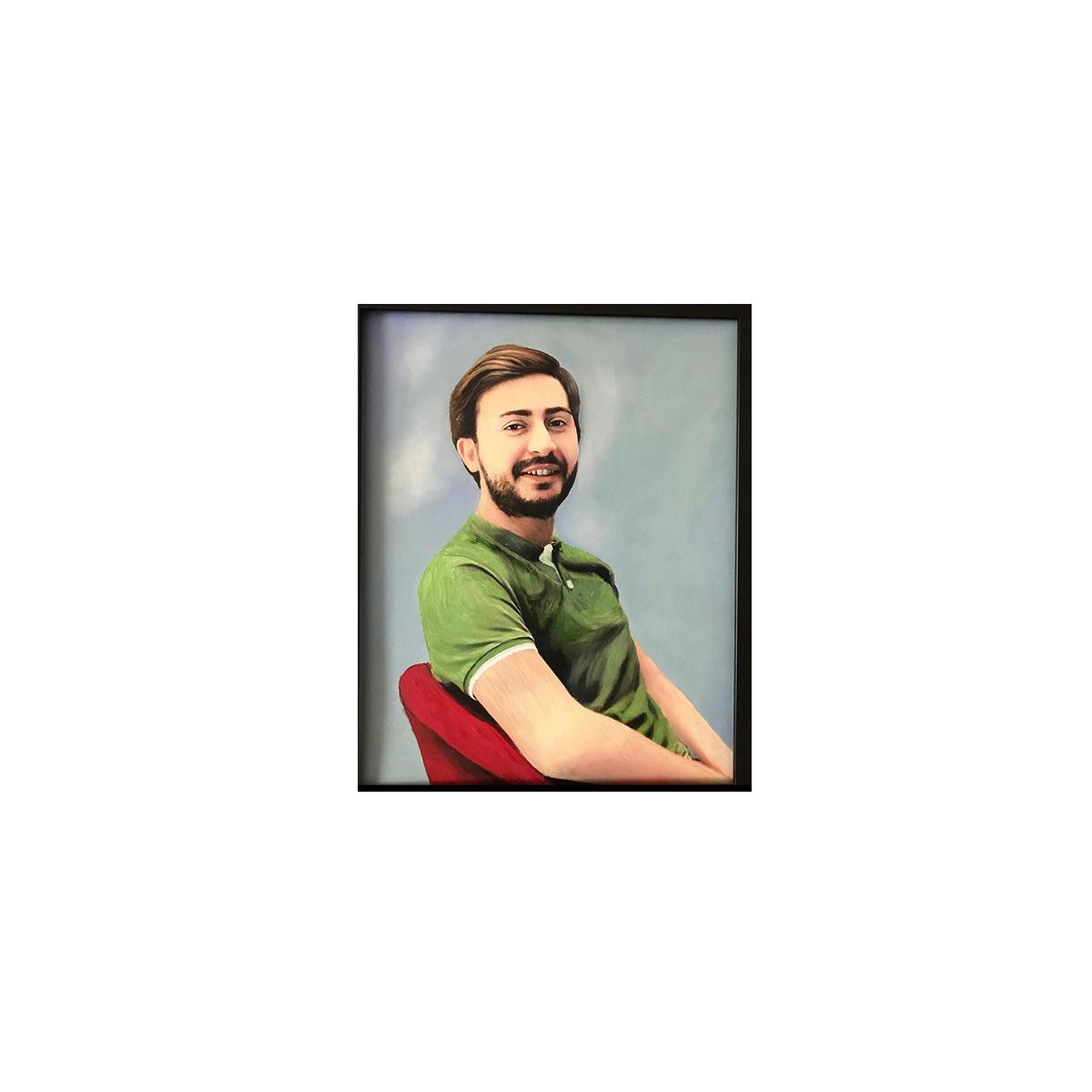 Kişiye Özel Karakalem Portre Sipariş