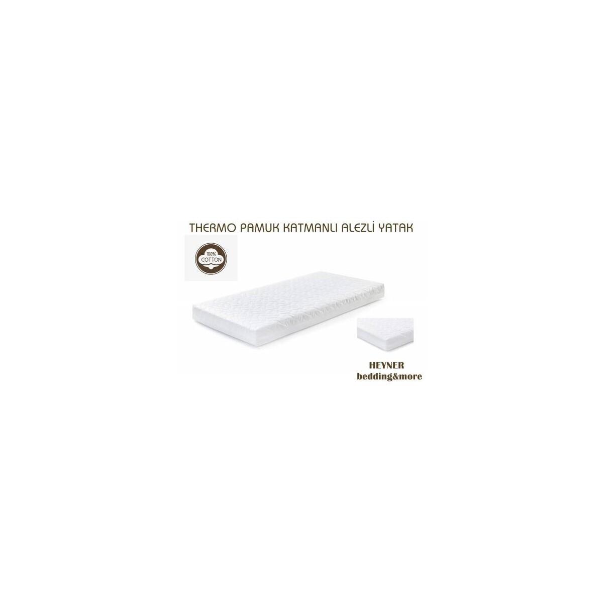 65X95 Heyner Thermo Pamuk Katmanlı Soft Ortopedik Alezli Bebek Yatağı