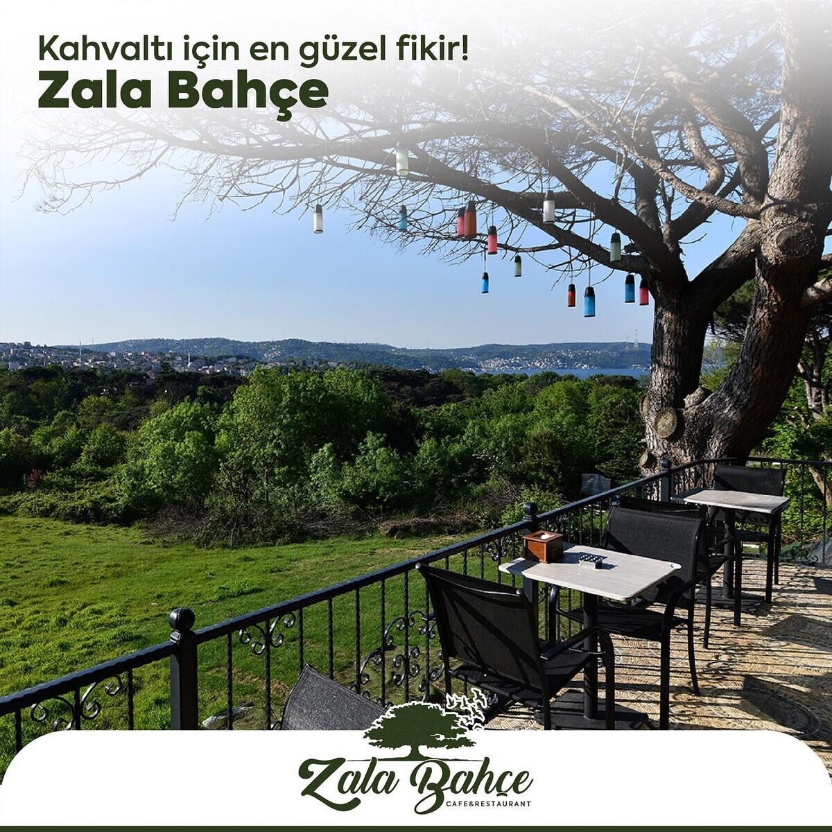 Yeşillikler İçerisindeki Yeniköy Zala Bahçe'de Serpme Kahvaltı