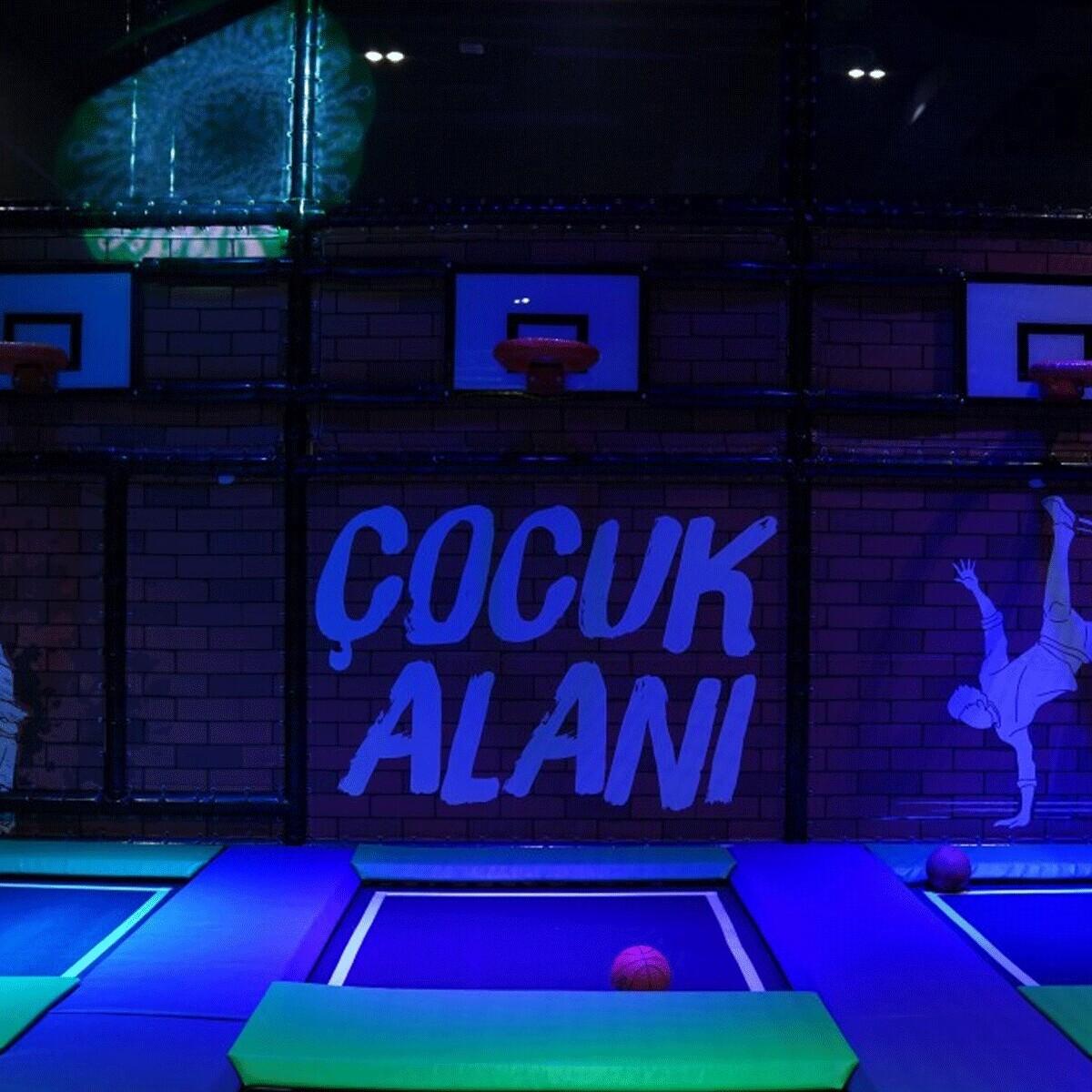 Türkiye'nin En Büyük Trambolin Parkı Power Jump Giriş Biletleri