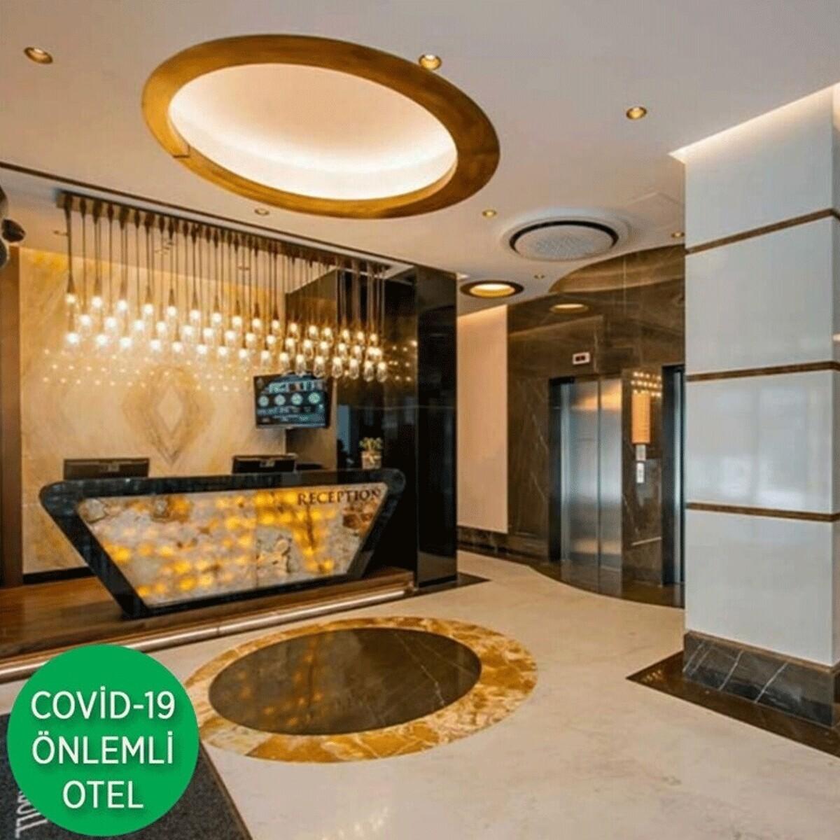 Febor İstanbul Bomonti Hotel & Spa'da Çift Kişilik Konaklama Keyfi