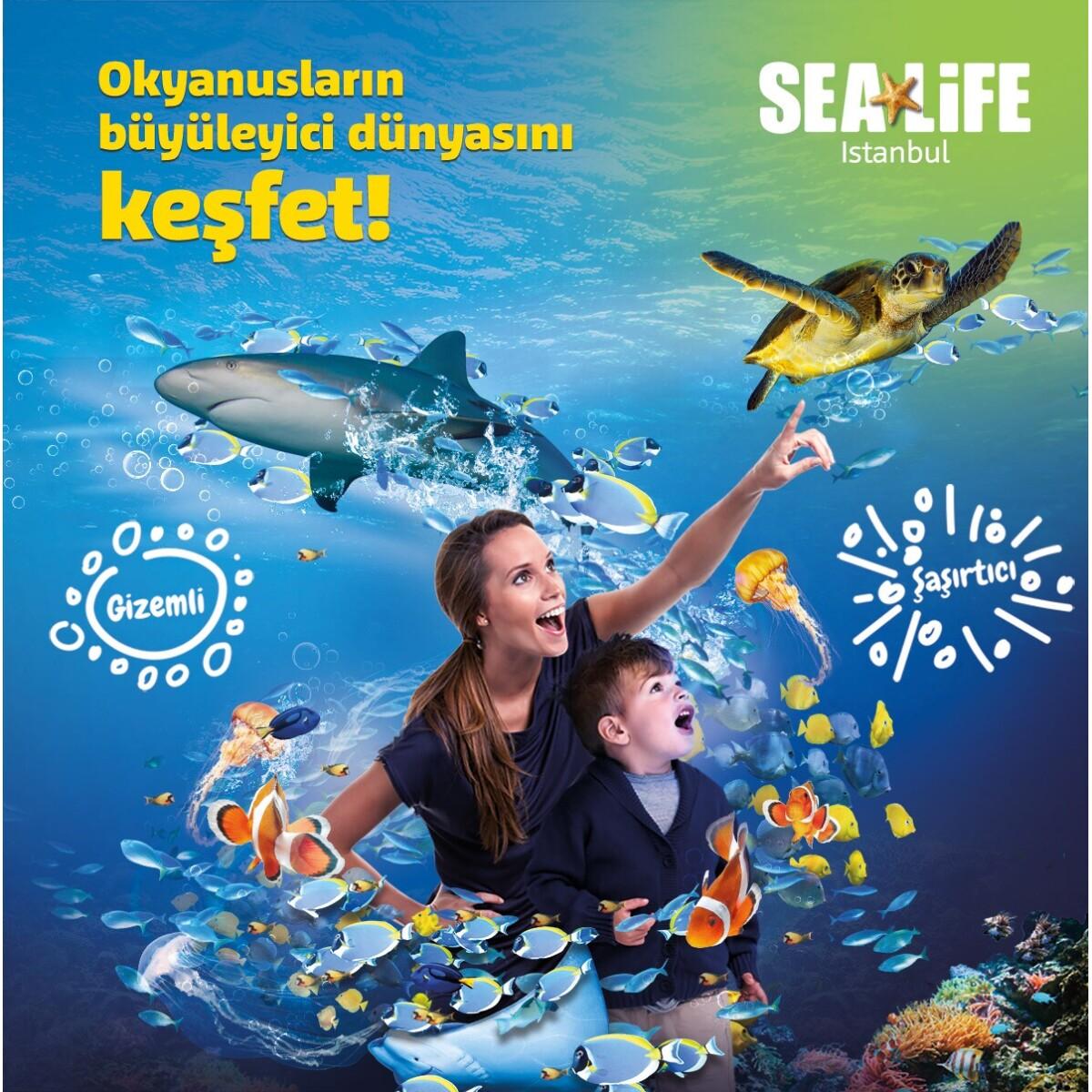 SEA LIFE İstanbul İndirimli Giriş Bileti