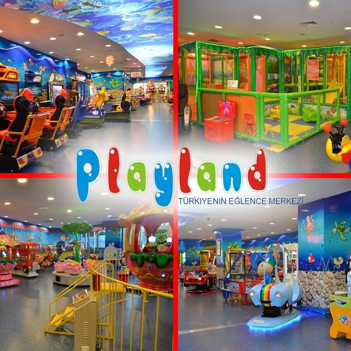 Tüm Playland Şubelerinde Geçerli Oyun Kartları