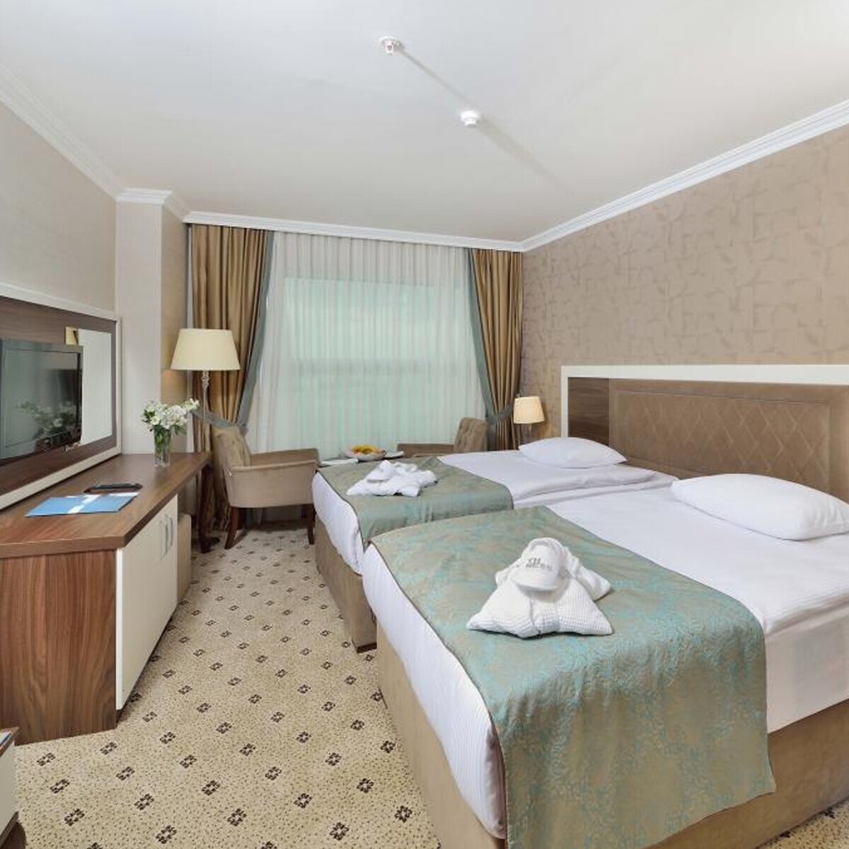 The Ness Thermal Hotel'de Konfor Dolu Konaklama Seçenekleri