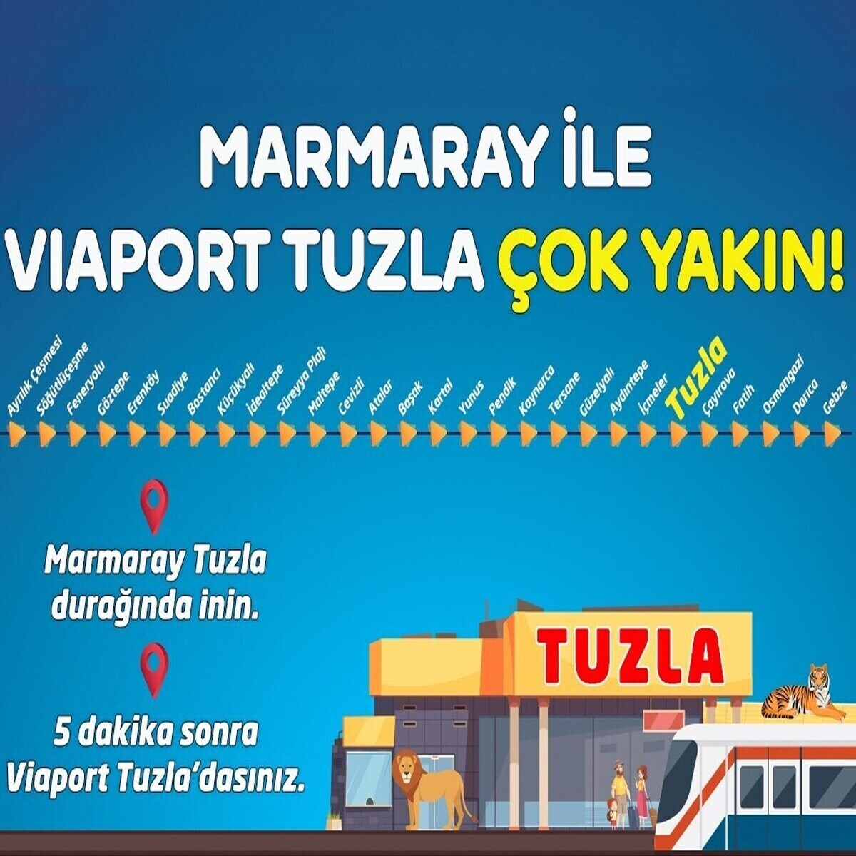 Aslan Park Viaport Marina Giriş Bileti