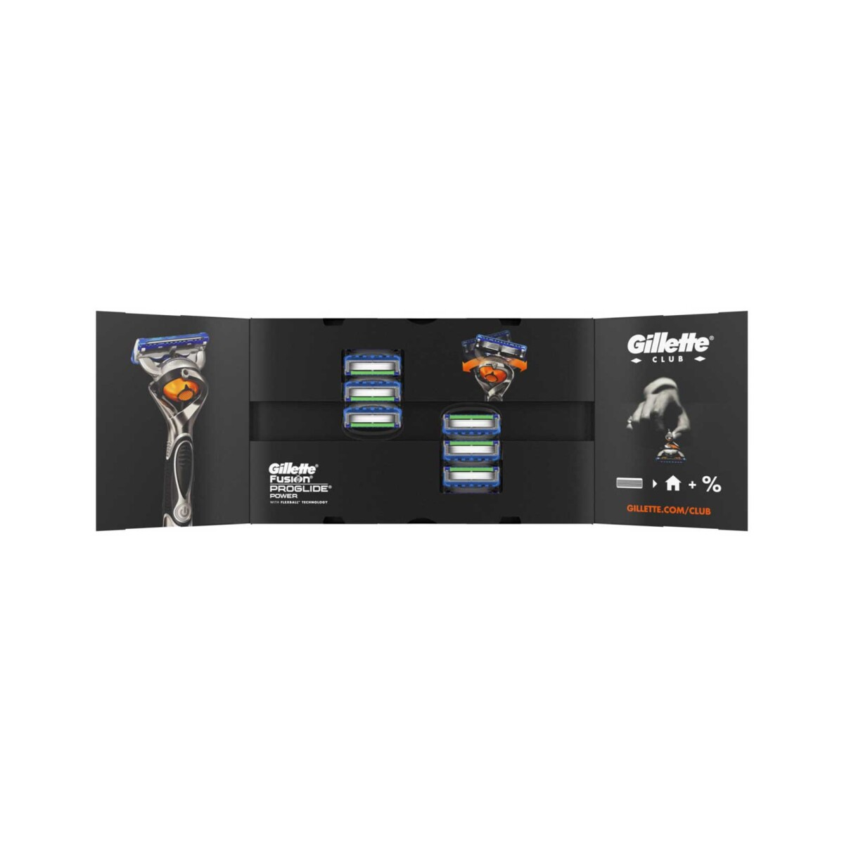 Gillette Fusion Power Yedek Tıraş Bıçağı Karton Paket 8'Li