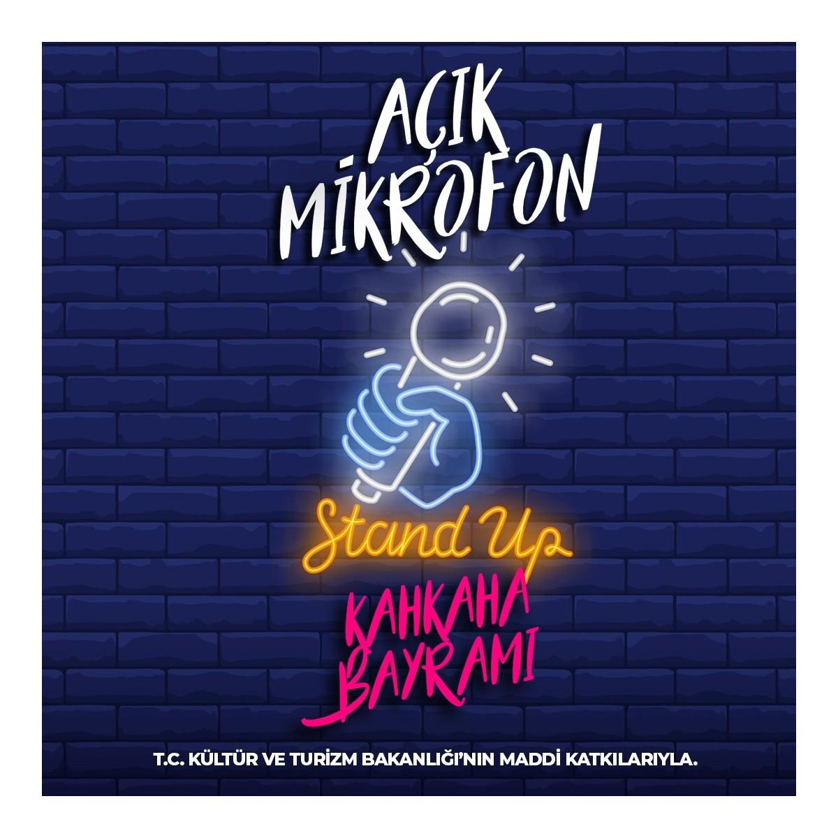 'Açık Mikrofon' Stand-Up Gösteri Bileti