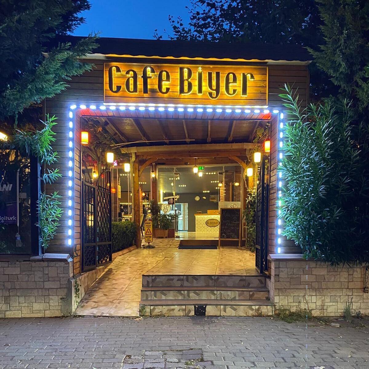 Cafe Biyer'den Açık Büfe veya Serpme Kahvaltı Keyfi