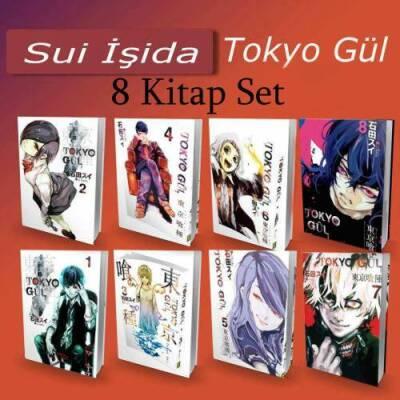 Tokyo Gul - 8 Kitap -Tam Set -Çizgi Roman 1-2-3-4-5-6-7-8 Cilt