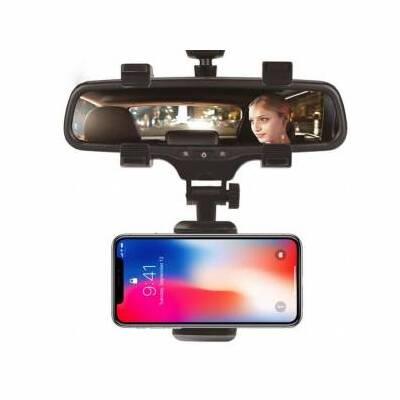 Araç İçi Dikiz Aynası Telefon Navigasyon Tutucu Tutacağı