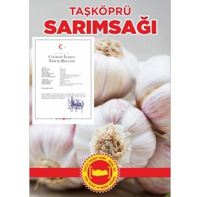 Taşköprü'den Hakiki 1 KG Kastamonu Taşköprü Sarımsağı (Kargo Ücretsiz)