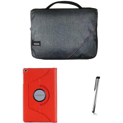 Galaxy Tab S6 Lite Sm-P610 P617 (10.4İnç) Tablet Çanta Kılıf Set