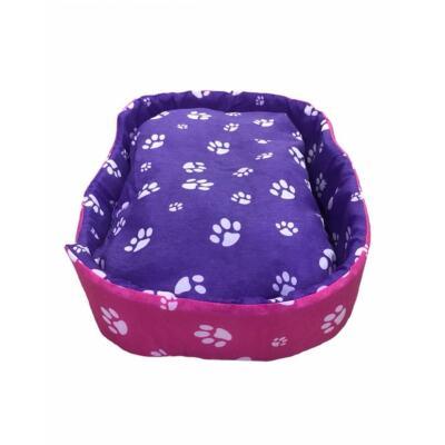 Evcil Hayvan Kedi Köpek Yuvası Yatağı 60*40 Cm Mor