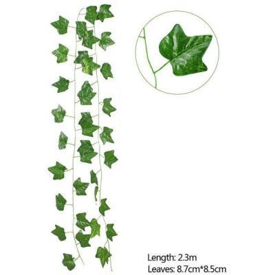 Yapay Sarmaşık Üçgen Yaprak Yapay Çiçek Dekoru 230Cm X 3Adet