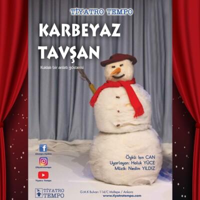 'Karbeyaz Tavşan' Online Çocuk Tiyatro Oyunu Bileti