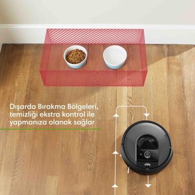 Roomba İ7+ Wi-Fi'lı Robot Süpürge