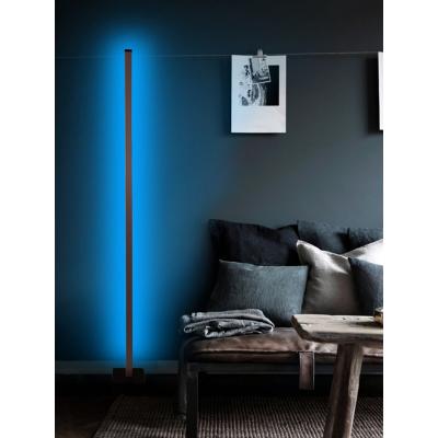 Metal Dekoratif Led Lambader 150X15 Kumandalı Renkli Köşe Lambası