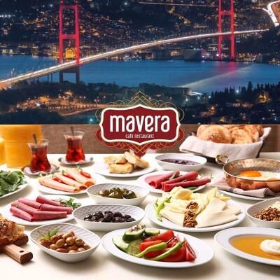 Çamlıca Mavera Cafe Restaurant Boğaz Manzaralı Serpme Kahvaltı Keyfi
