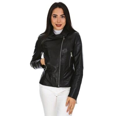Dinamo Leather Kadın Gerçek Deri Ceket - Db-687 - 20005 Dl1
