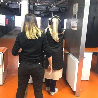 Başakşehir Poligon 34'de Temel Atış Eğitimi ve Mermi Atışı