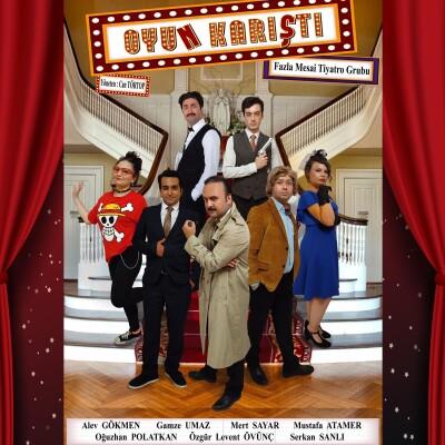 'Oyun Karıştı' Tiyatro Oyunu Bileti