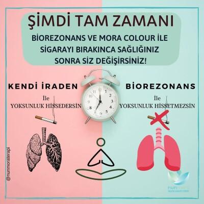Nun Mora Terapi'den Biorezenans İle Tek Seansta Sigara Bırakma