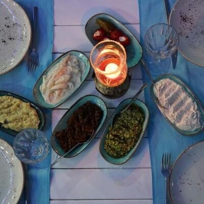 By Mezze Balık'ta Zengin Akşam Yemeği Seçenekleri