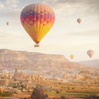 2 Gece 3 Gün Yarım Pansiyon Balon Turu Dahil Kapadokya Turu