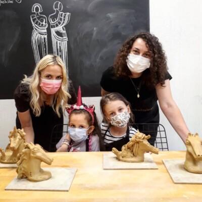 Heykel İşler'den Çocuk & Yetişkinler İçin Heykel Workshopları