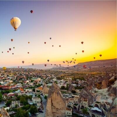 Balon Dahil 3 Gün Tourist Hotels & Resorts Konaklamalı Kapadokya Turu