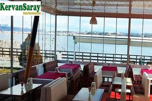 Kervansaray Cafe'de Mogan Gölü Kıyısında Semaverde Çay Eşliğinde 22 Çeşit Lezzetten Oluşan Serpme Kahvaltı