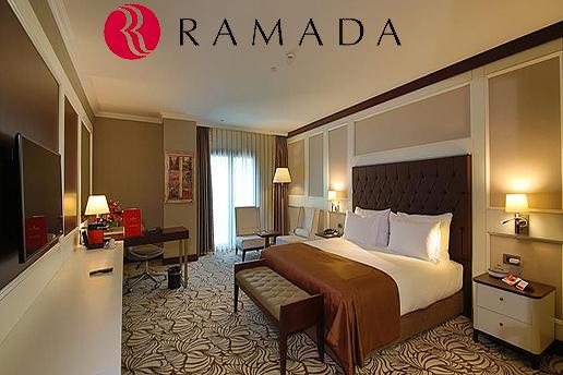 Ramada Hotel & Suites Merter'den Çift Kişilik Kahvaltı Dahil Seçenekli Konaklama Keyfi