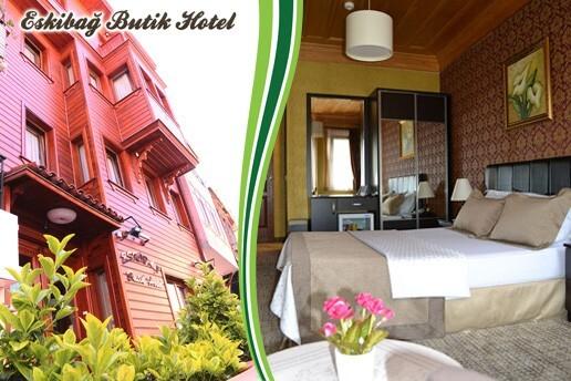 Büyükada Eskibağ Butik Hotel'de Çift Kişilik Konaklama Seçenekleri