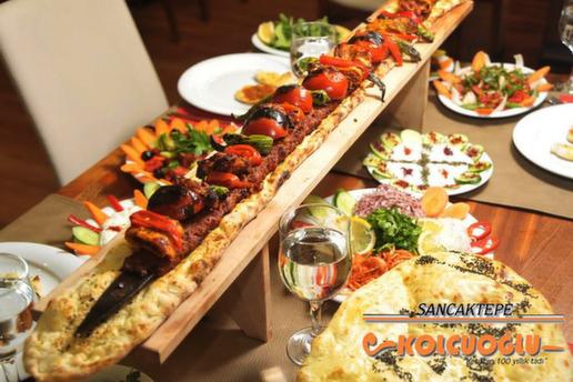 Sancaktepe Kolcuoğlu Restaurant'ın Kaliteli Etleriyle Hazırlanmış Kebap Menüleri