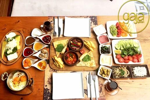 Gaja Garden Hookah Lounge'tan Lezzet Dolu Serpme Kahvaltı Menüsü