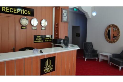 Arakonak Termal Hotel'de Çift Kişilik Konaklama Seçenekleri