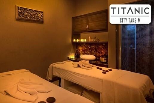 Titanic City Taksim Hotel Ocean SPA'da 50 Dakika Shiatsu ve Bali Masajlarından Biri