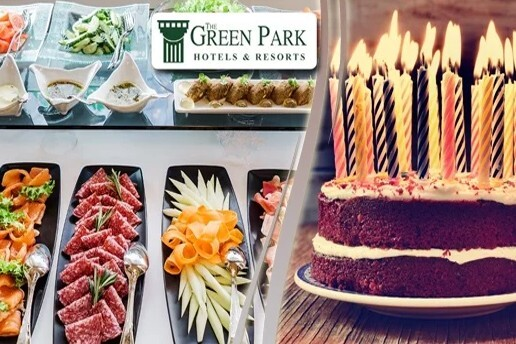 The Green Park Pendik Hotel'de Kahvaltı Eşliğinde Doğum Günü Partisi