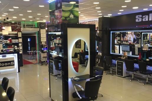 SaloonS Güzellik & Solaryum'dan Saç Kesim, Fön, Botox, Dip Boya, Kalıcı Su Salgası, Brezilya Fönü ve Gelin Saçı Paketleri