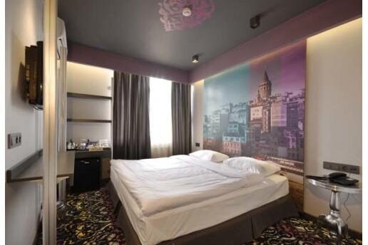 İstanbul'un Gözbebeği Taksim Pera Tulip City Hotel'de Kahvaltı Dahil 1 Gece Konaklama Keyfi