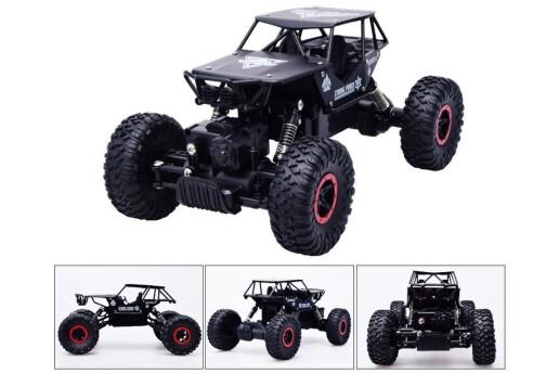 Rock Crawler Off Road, Metal Gövde 2.4Ghz 4X4 U/K Buggy Jeep 1:18