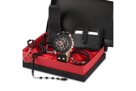 Polo Rucci Erkek Kol Saati Kemer Cüzdan Kartlık Tesbih Bileklik