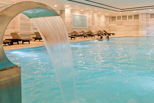 The Ness Thermal Hotel'de Kese - Köpük Uygulaması