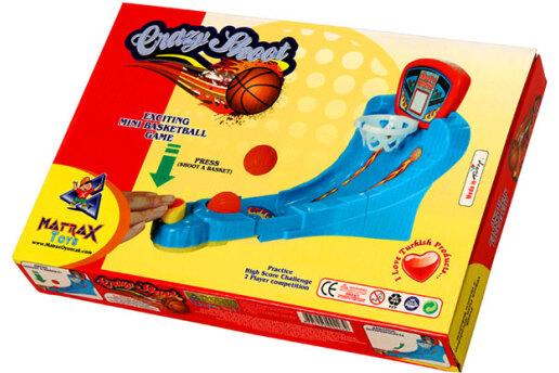 Çılgın Atış - 3 Adet Toplu Mini Basket Oyunu, Videolu Tanıtım