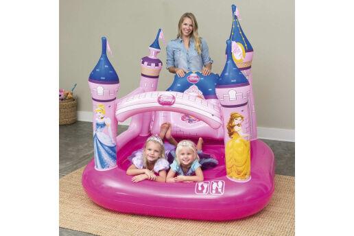 Pompalı-Bestway 91050 Disney Prenses Şişme Zıplama-Eğlence Havuzu