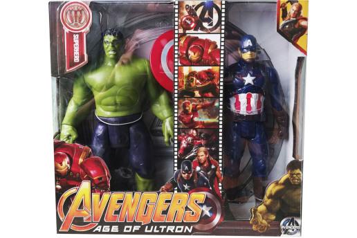 Işıklı,sesli Avengers Hulk Veiron Man Yada Hulk Ve Kaptan Amerika